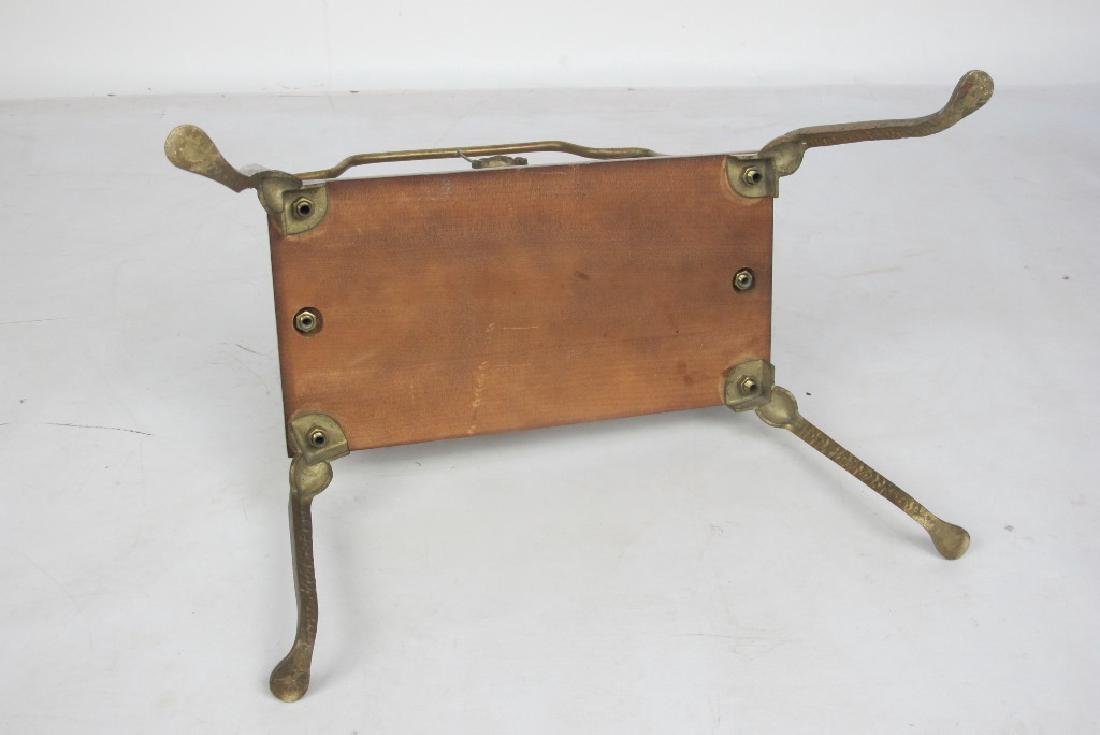 French Style Brass Magazine Stand - 5