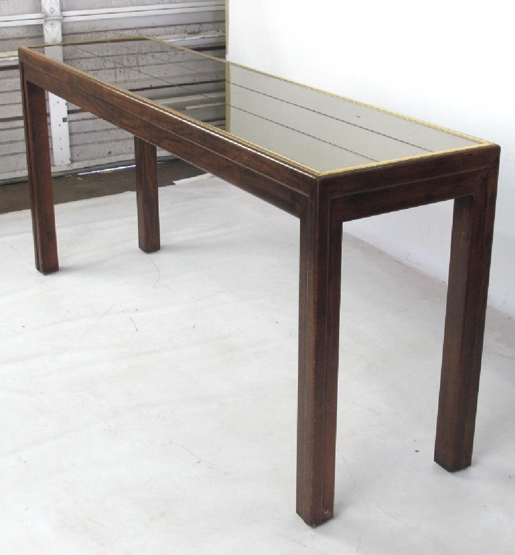 Modern Console with Mirror Top - 2
