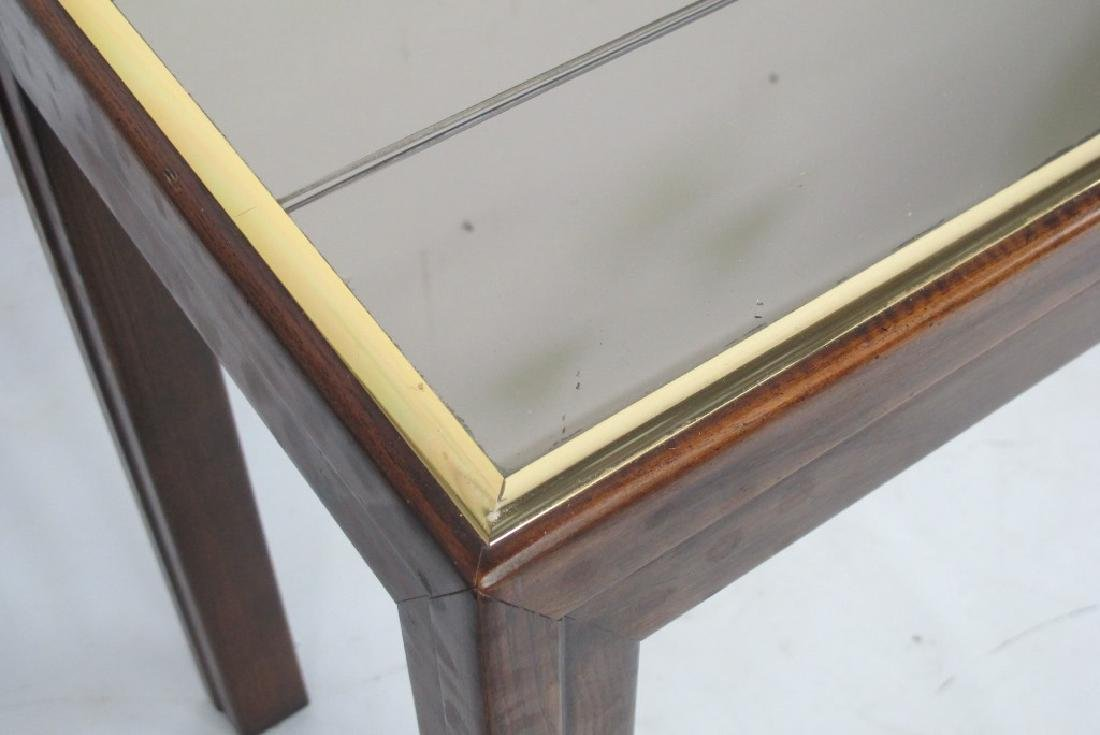 Modern Console with Mirror Top - 4