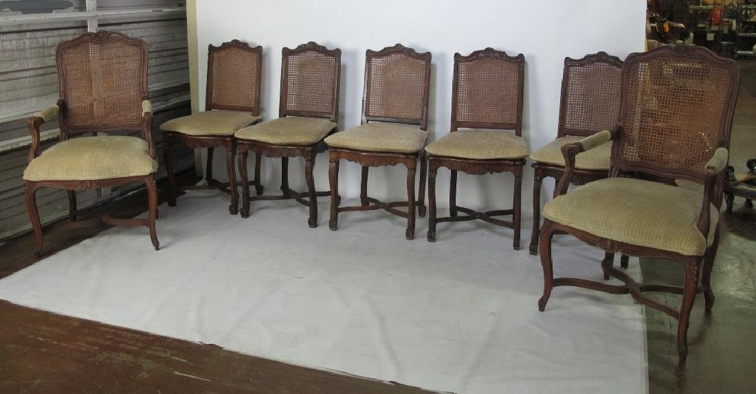 Set of Seven Chairs