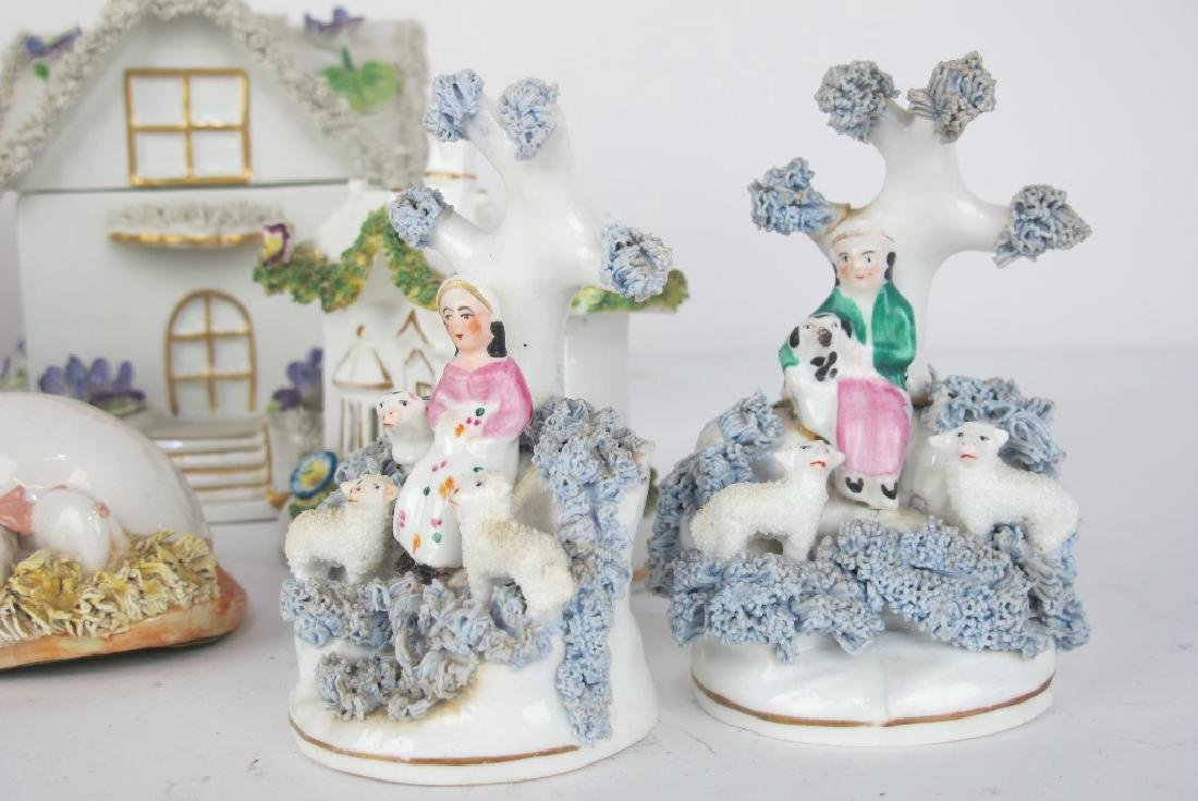 Collection of Staffordshire and More Porcelain - 2