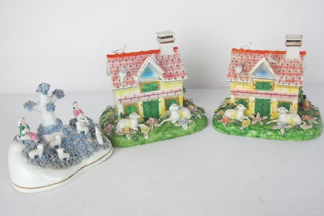 Collection of Staffordshire and More Porcelain - 6