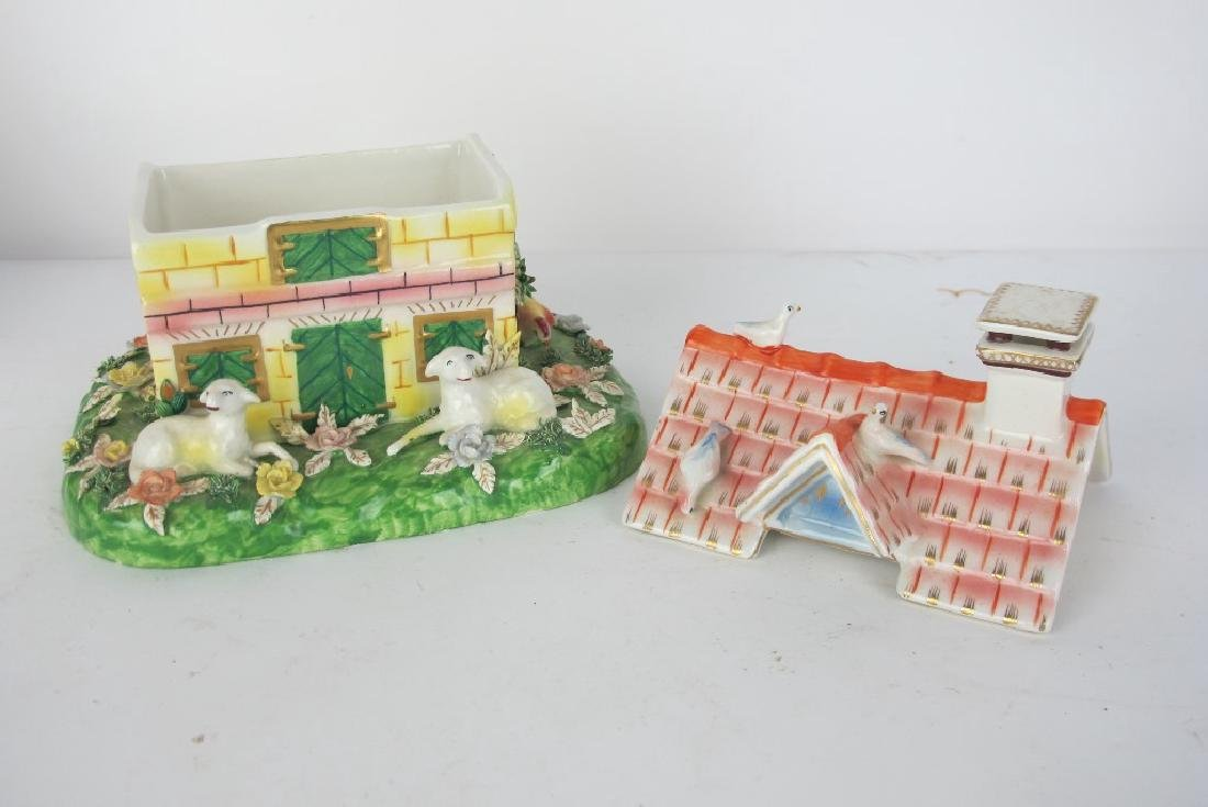 Collection of Staffordshire and More Porcelain - 7