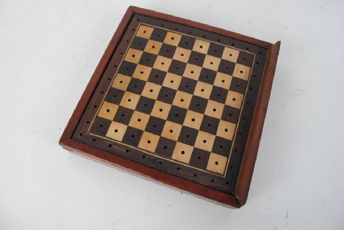 Three Antique Game Boxes - 3