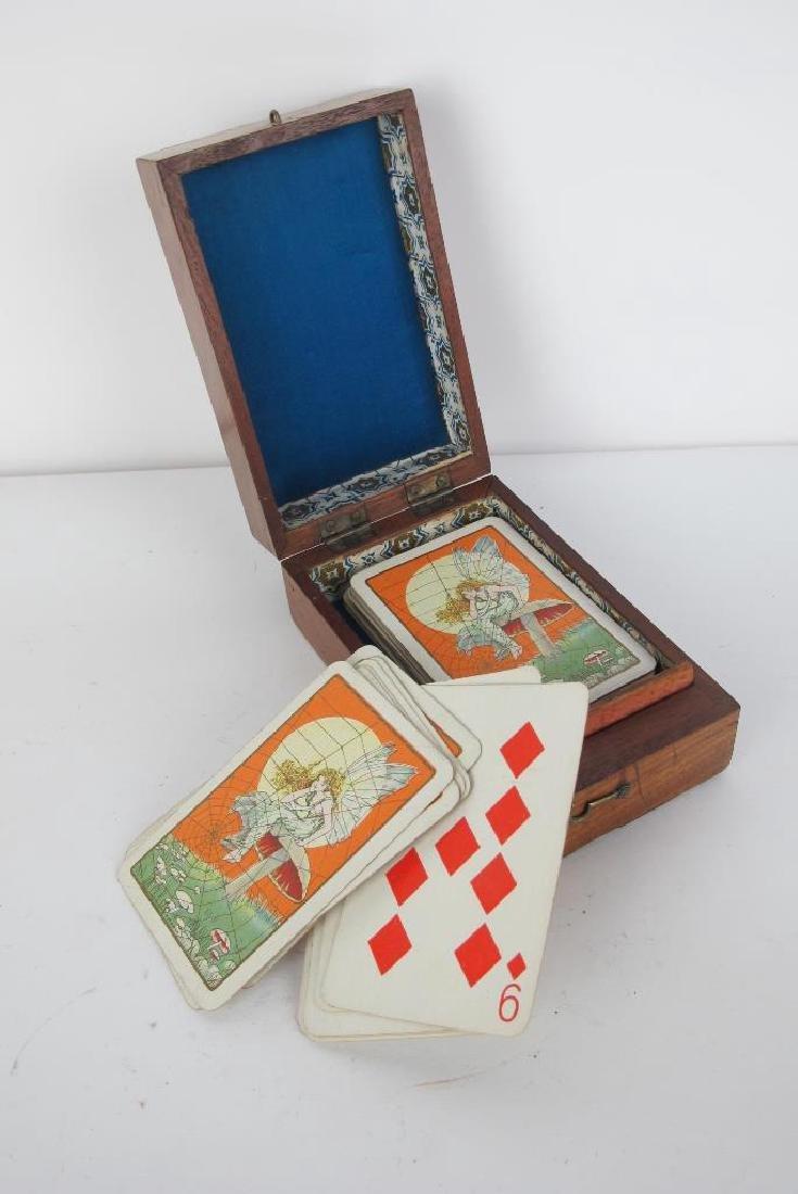 Three Antique Game Boxes - 5