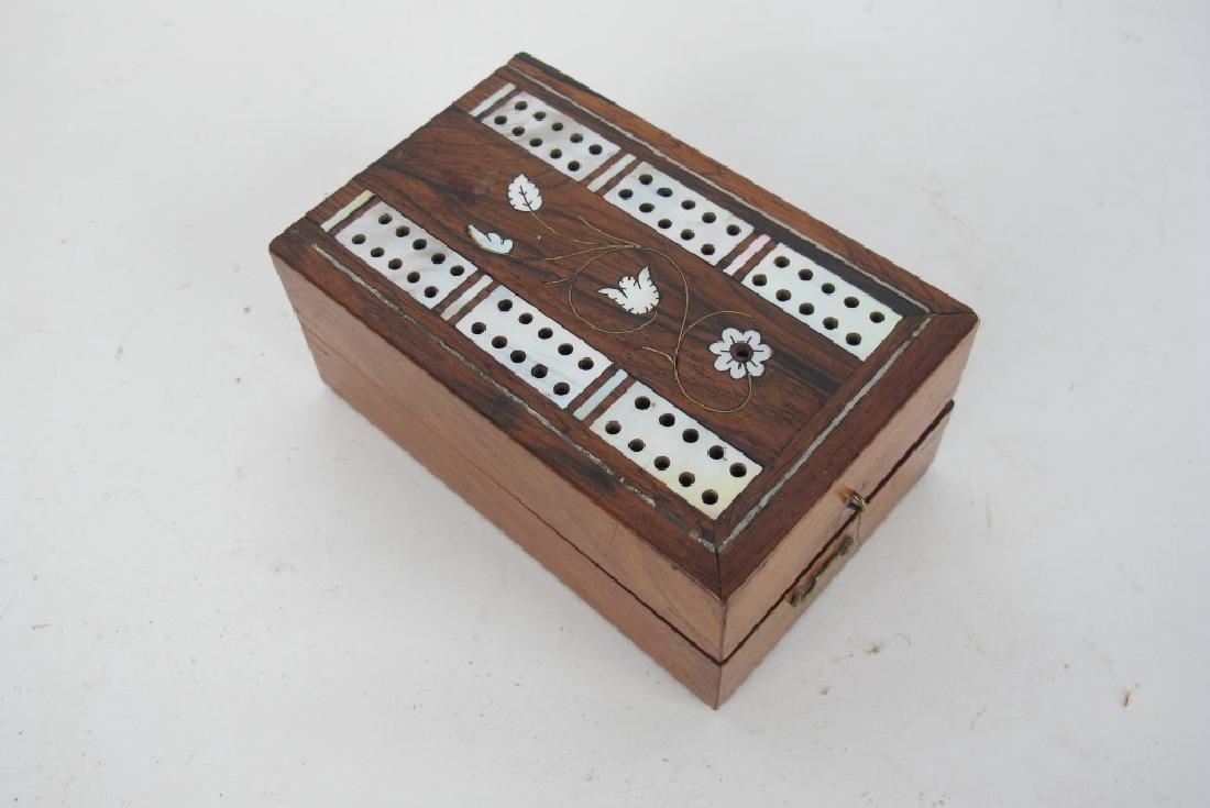 Three Antique Game Boxes - 6