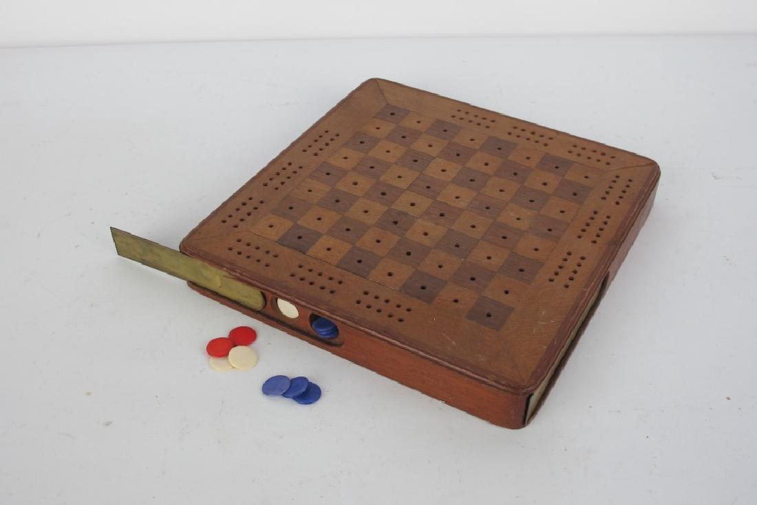 Three Antique Game Boxes - 7