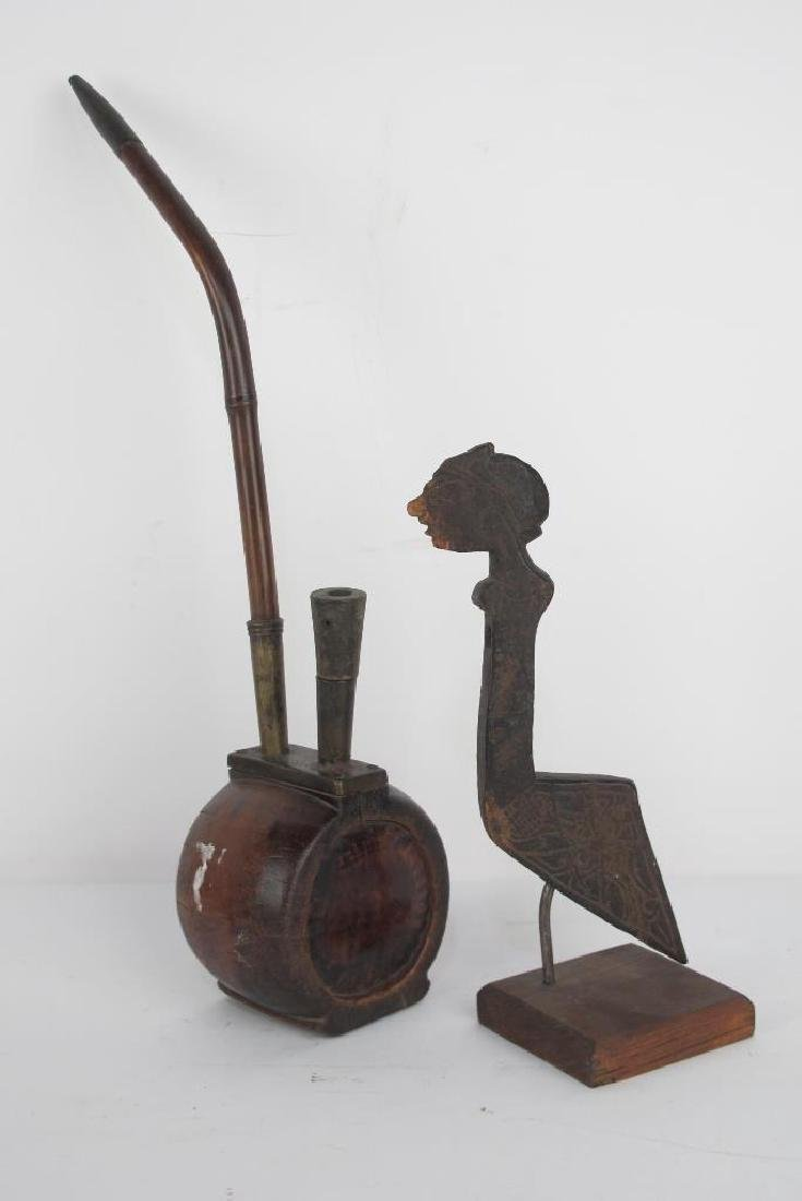 Collection of Early Carved Wood Items - 7