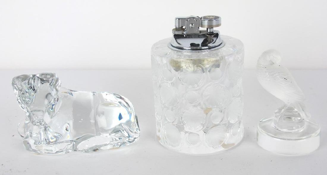 Lalique and Baccarat Paperweights - 4