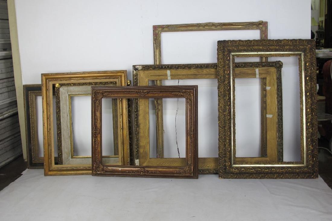 Lot of Antique Frames