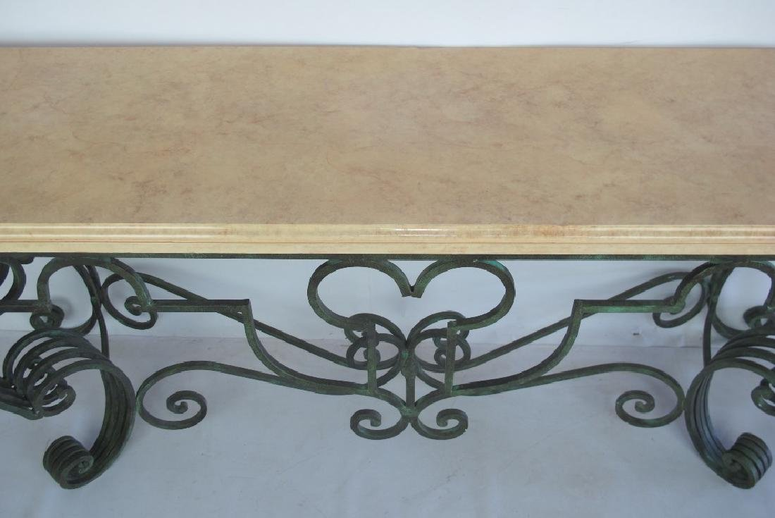 Yellow Stone Top Console - 2