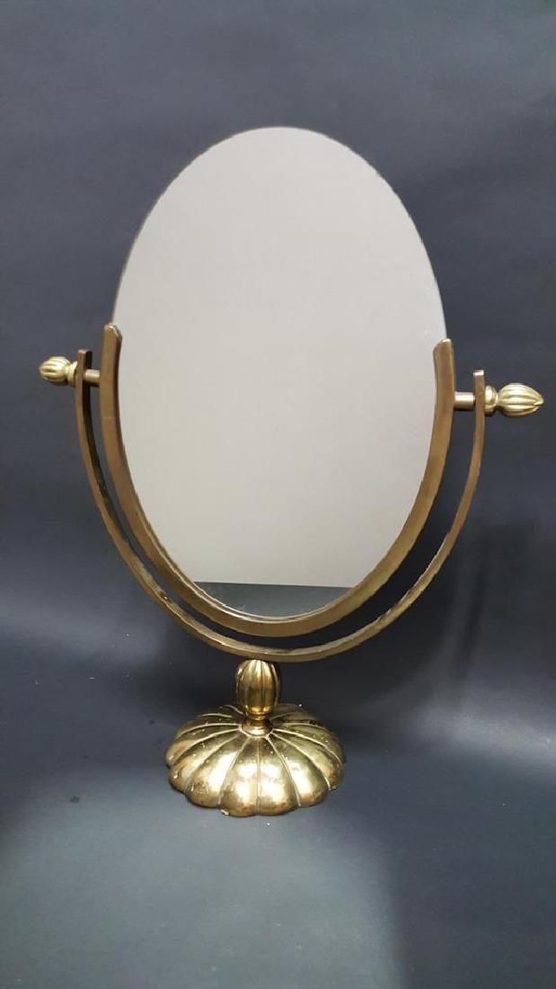 Deco Brass Vanity Mirror