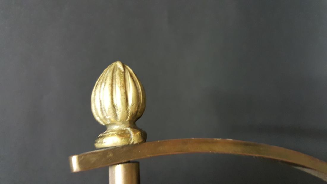 Deco Brass Vanity Mirror - 2