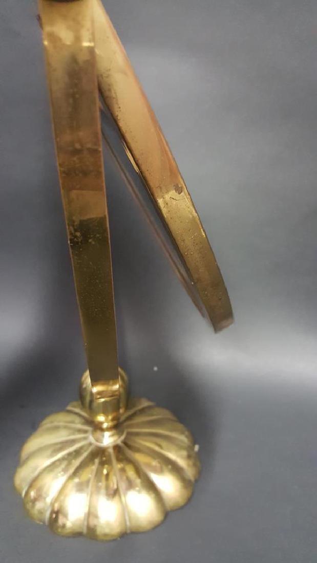 Deco Brass Vanity Mirror - 4