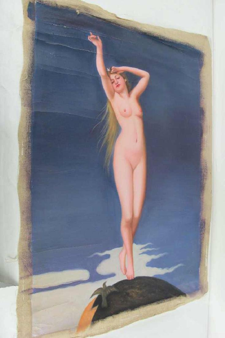 Oil on Canvas Female Nude