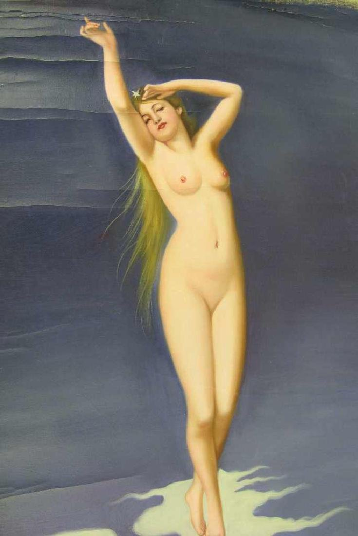 Oil on Canvas Female Nude - 2