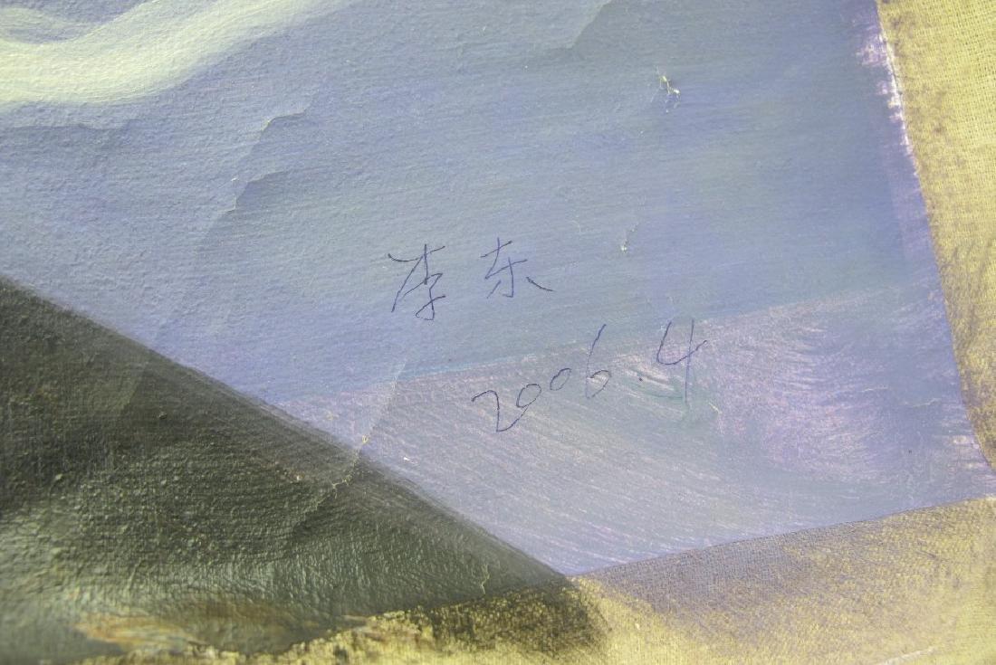 Oil on Canvas Female Nude - 4
