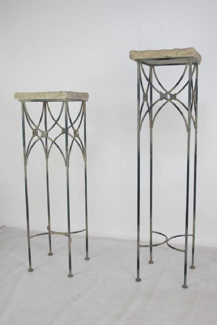 Two Stone Top Stands