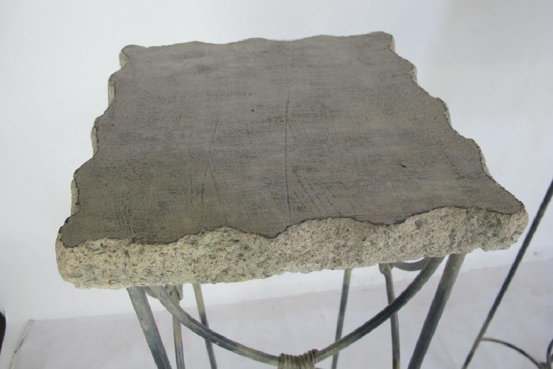 Two Stone Top Stands - 3