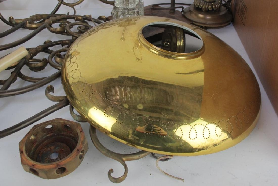 Large Lot of Lamp Parts - 7