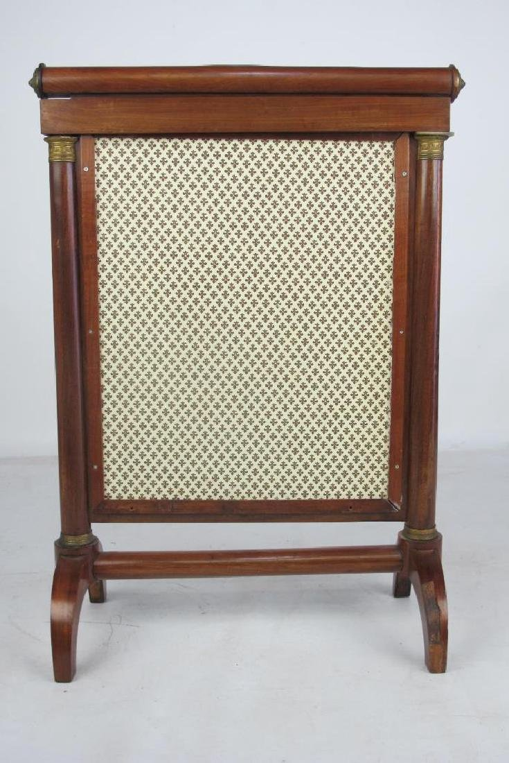 19th C. French Empire Screen - 4