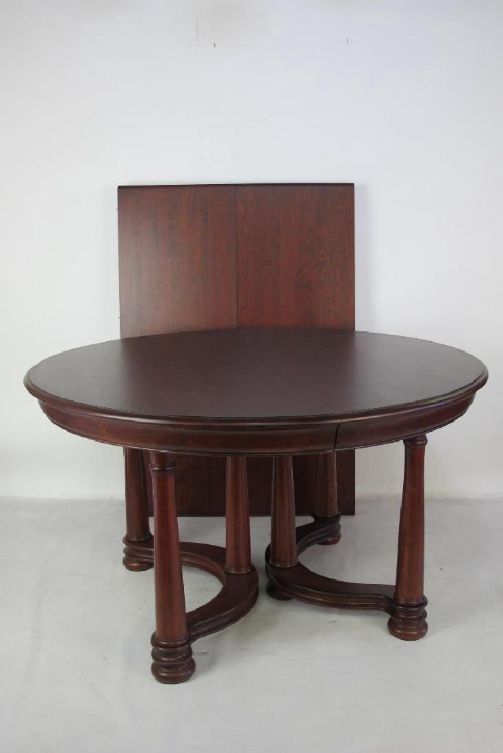 Mahogany Round Top Table