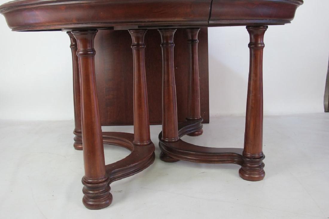 Mahogany Round Top Table - 3