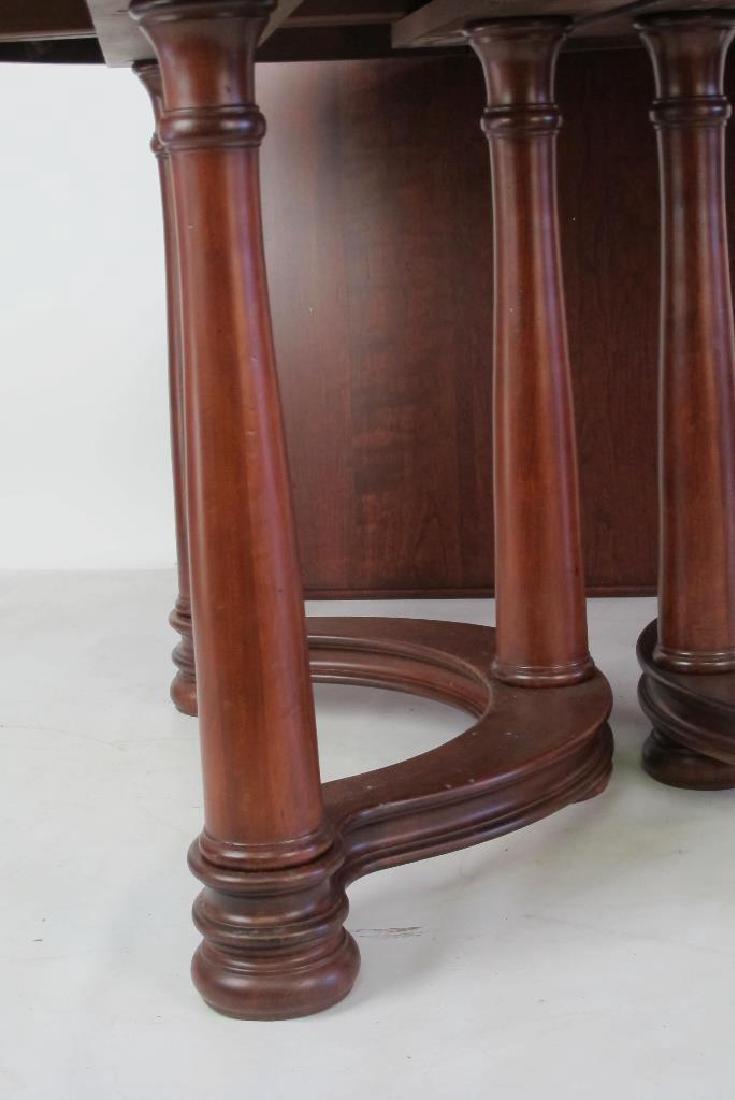 Mahogany Round Top Table - 4