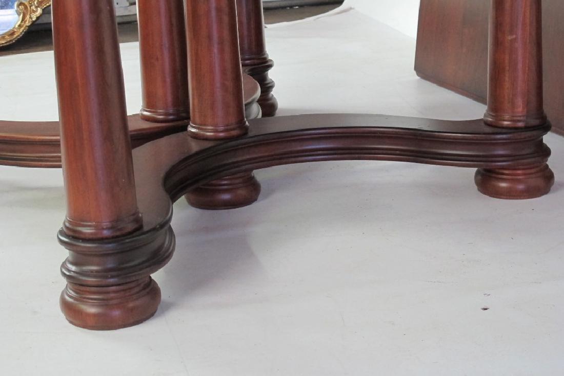 Mahogany Round Top Table - 5