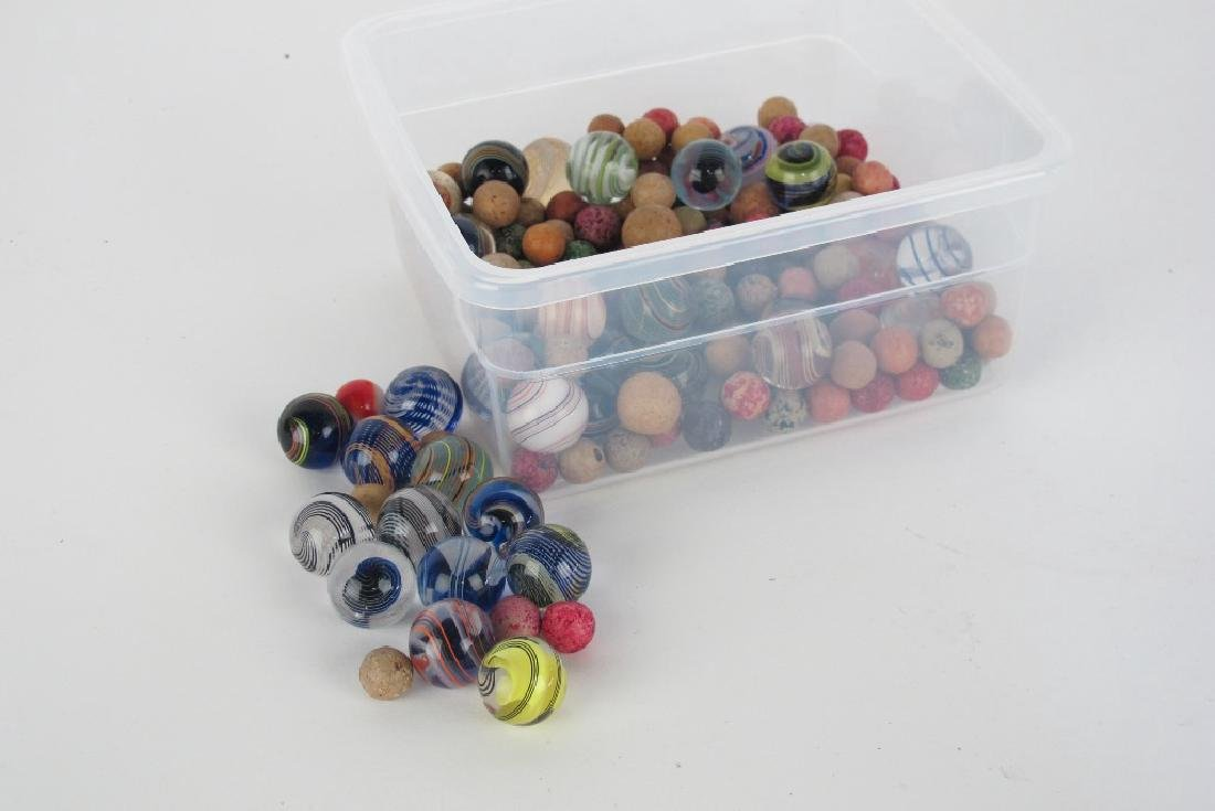 Collection of Antique Marbles