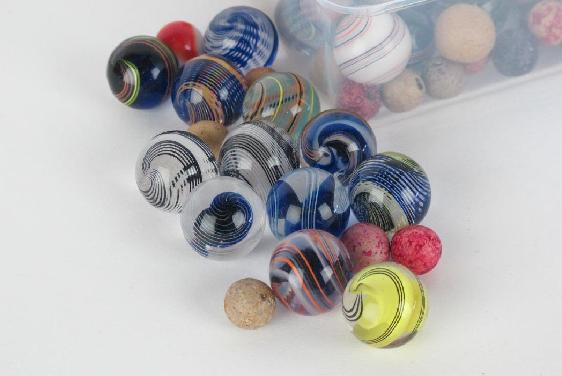 Collection of Antique Marbles - 2