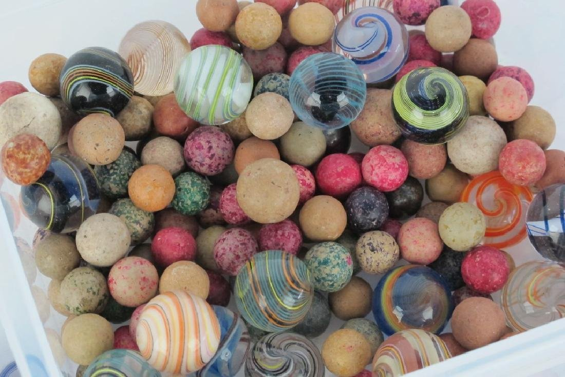 Collection of Antique Marbles - 3