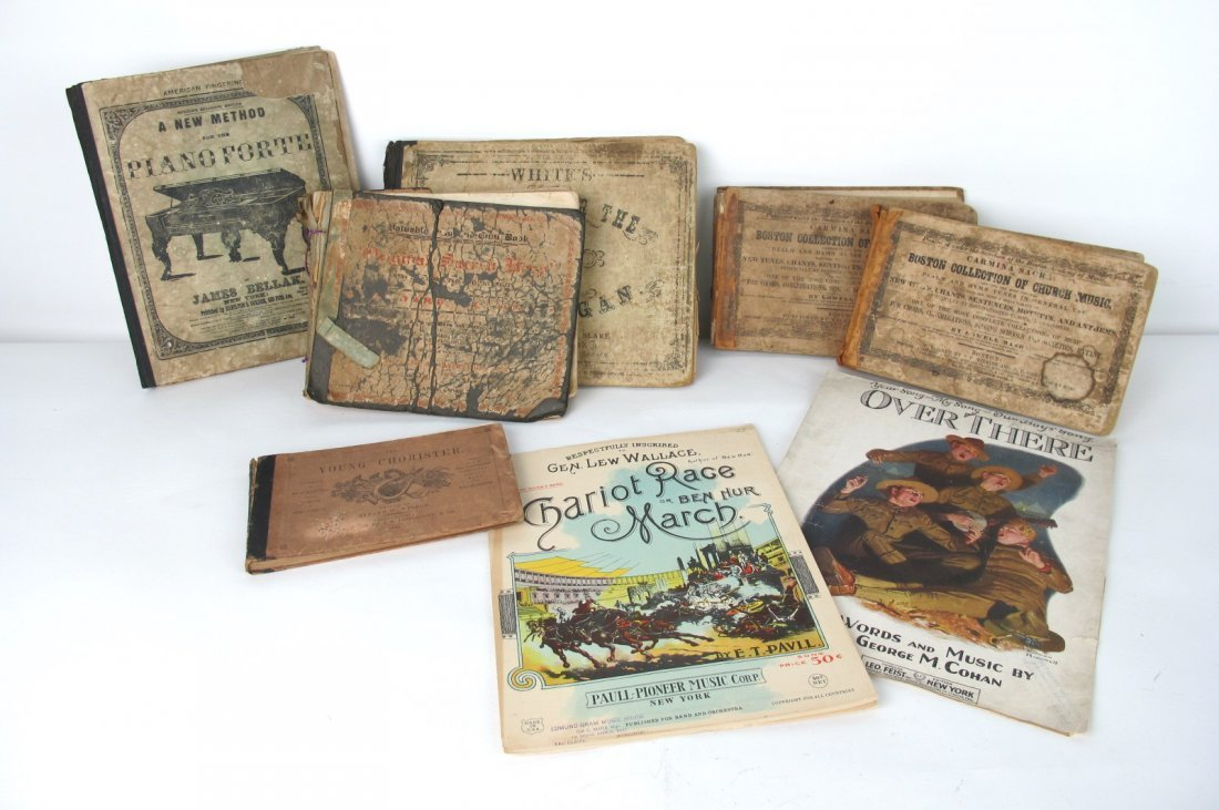Group of Musical Books
