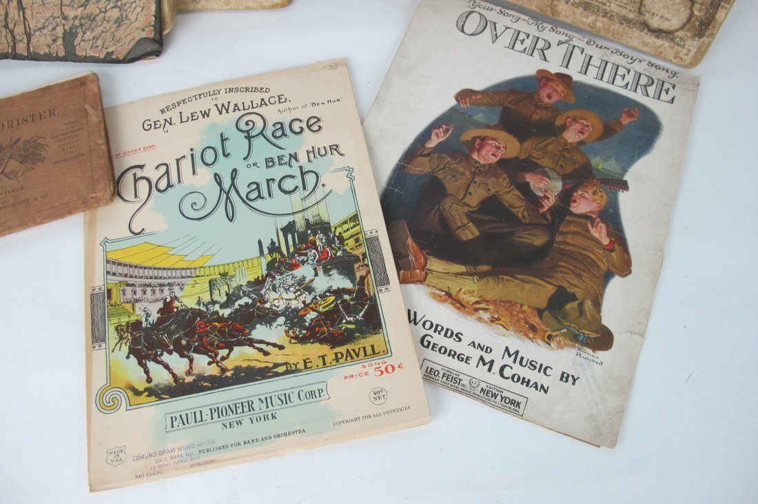 Group of Musical Books - 2