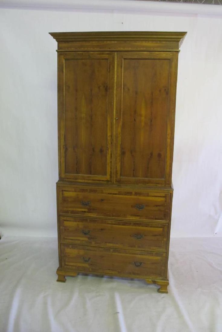 2 Piece 3 Drawer Cabinet