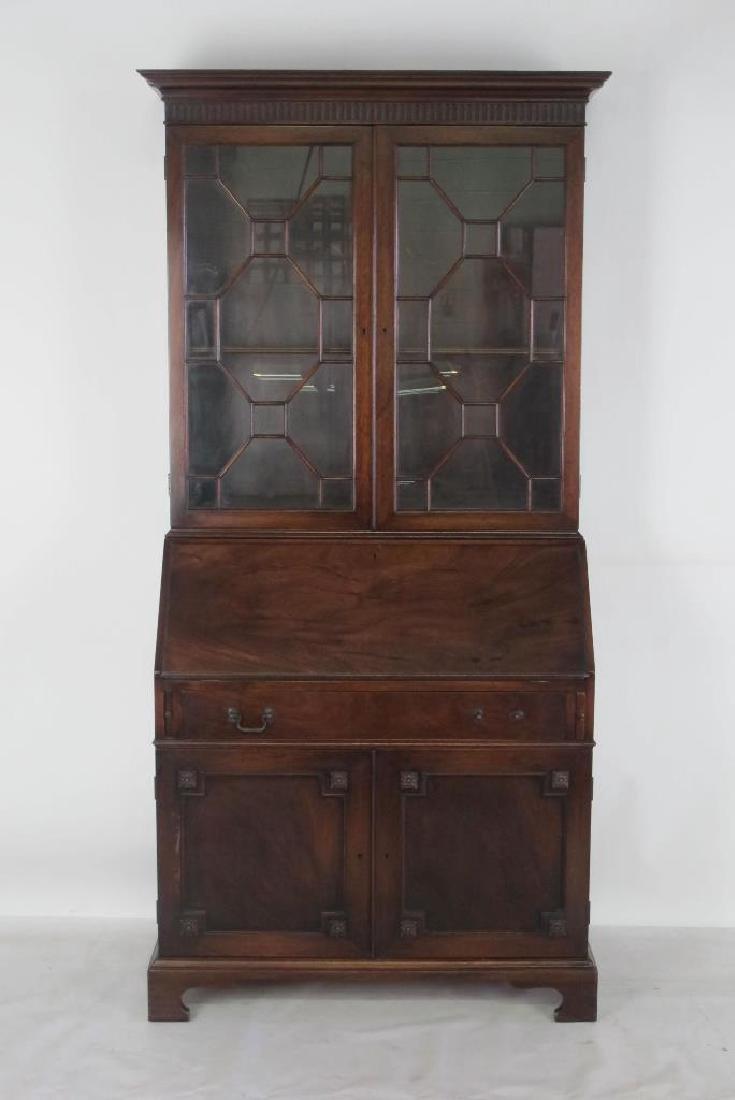 Secretary Desk and Cabinet