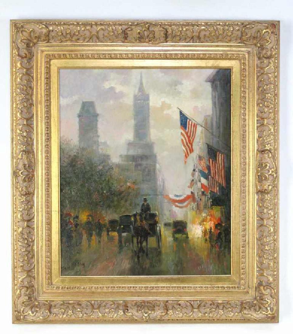John William Mogan Oil on Canvas