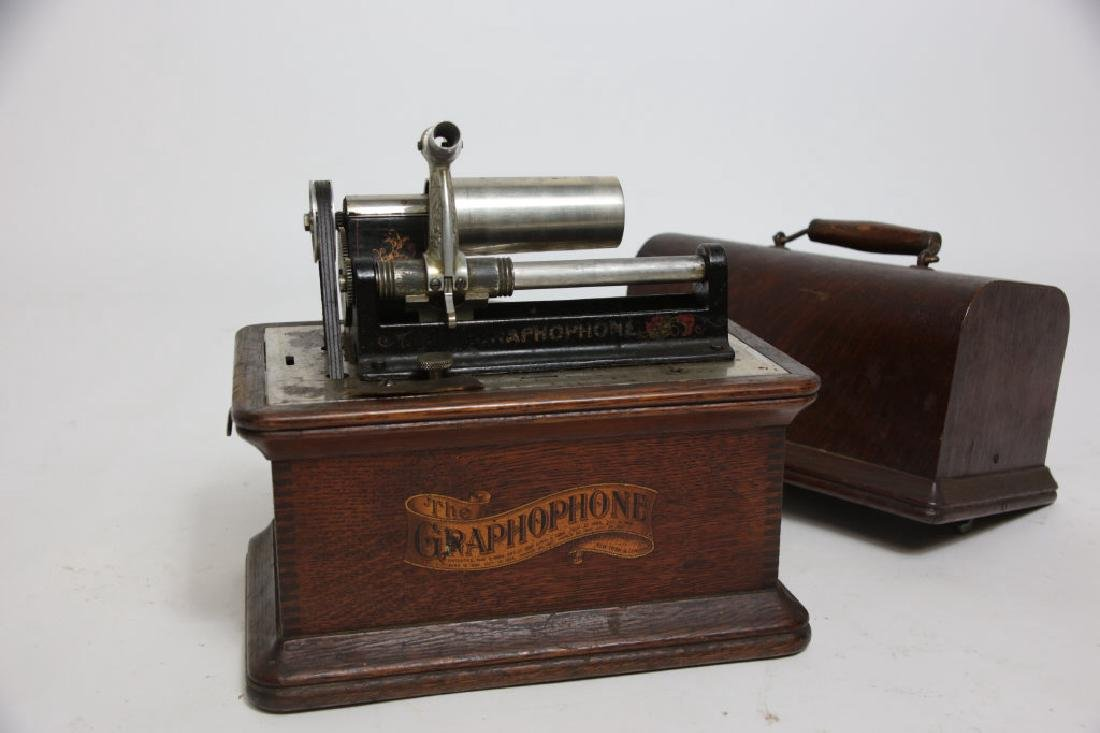 Graphophone with Cylinders (No Horn)