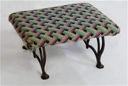 Wrought Iron Footstool