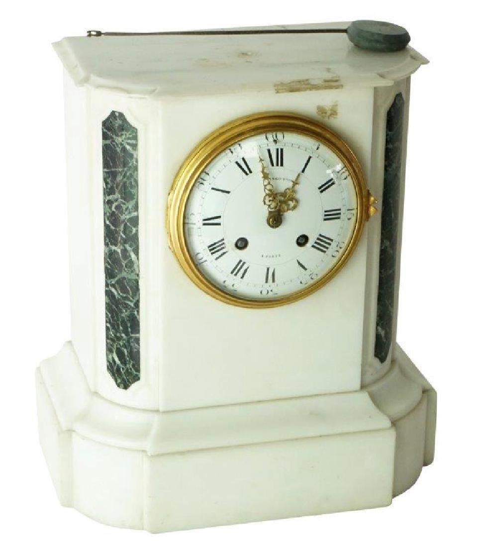 Raingo Freres a Paris Marble Clock