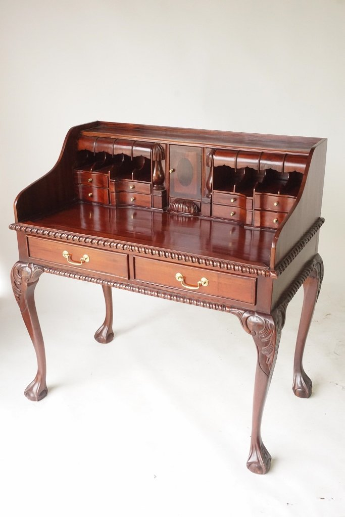 Mahogany Ball and Claw Desk