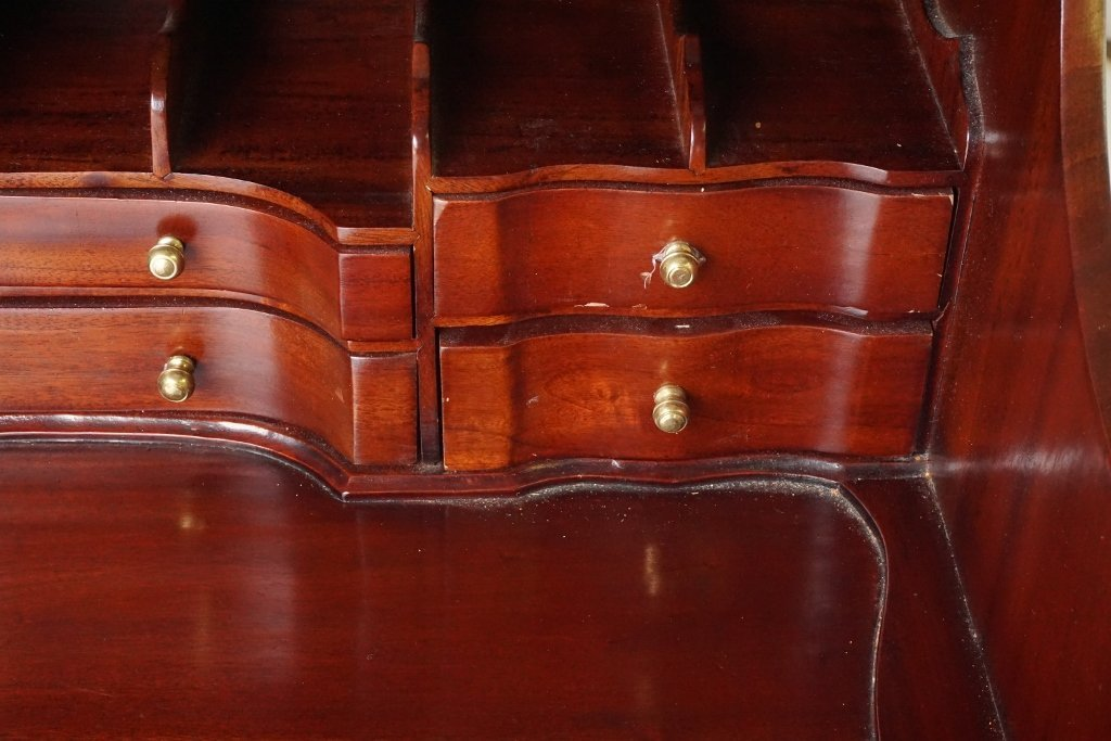 Mahogany Ball and Claw Desk - 2