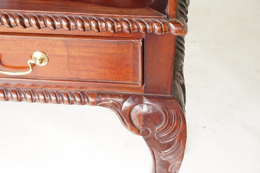 Mahogany Ball and Claw Desk - 3