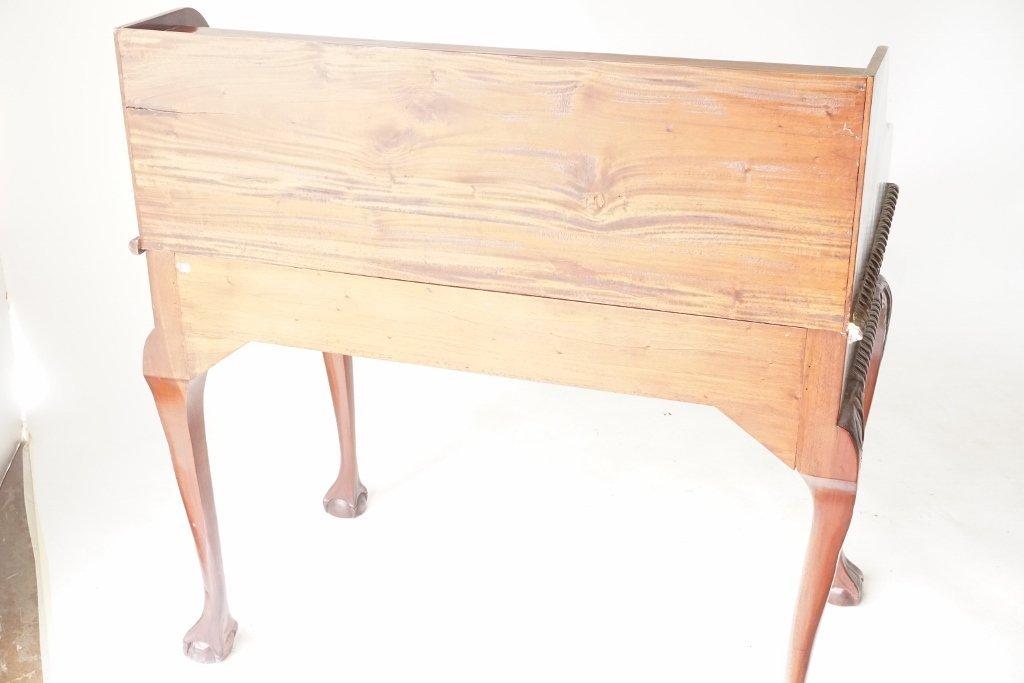 Mahogany Ball and Claw Desk - 8