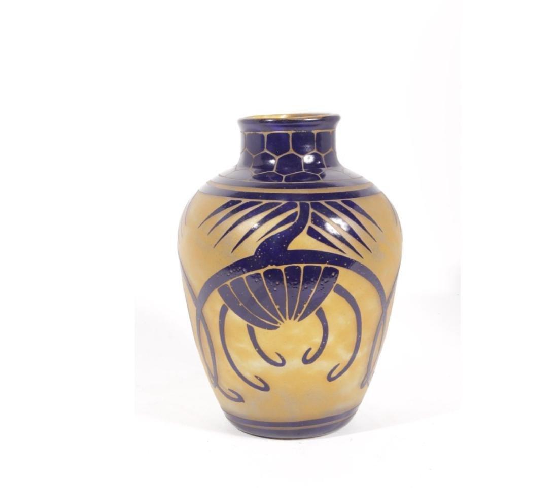 Charder 'La Verre Francais' Art Glass Vase