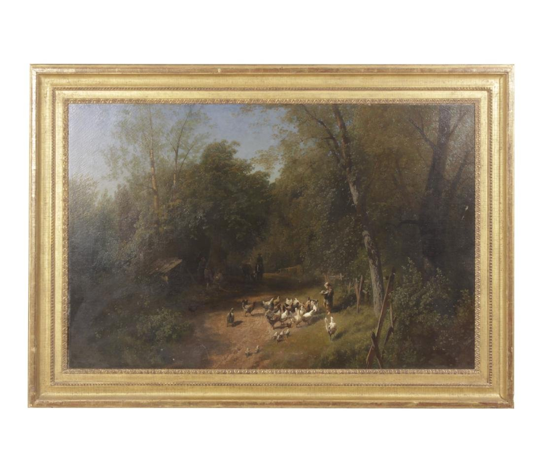 Herman Herzog (German,1832-1932) Landscape