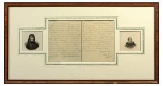 Autograph of Napoleon Bonaparte