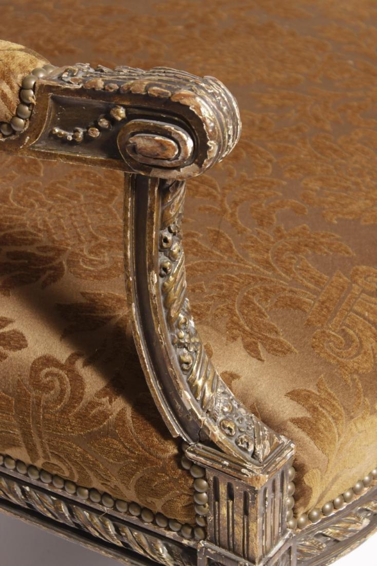 Louis XVI Giltwood Sofa - 3