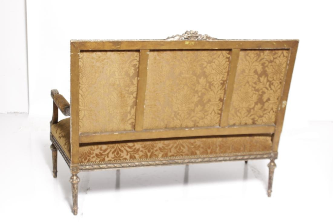 Louis XVI Giltwood Sofa - 6