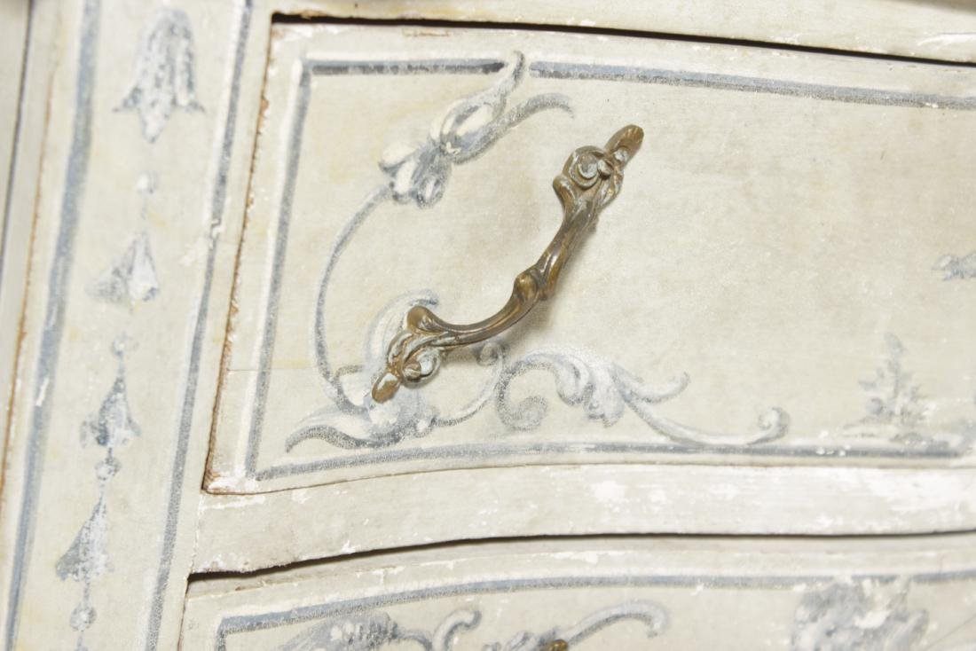 Painted Italian Louis XV Style Commode - 3